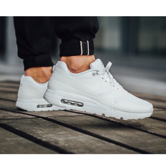 Nike Air Max 1 Youth GS shoes white grey